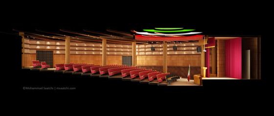 Auditorium - Section Plane